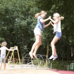 Familiecamping, Groepsaccommodatie schoolreis