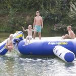 lekker zwemen op de camping
