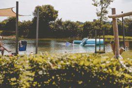 Zwemvijver in Twente