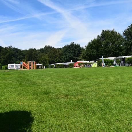 Standaard-veld-camping